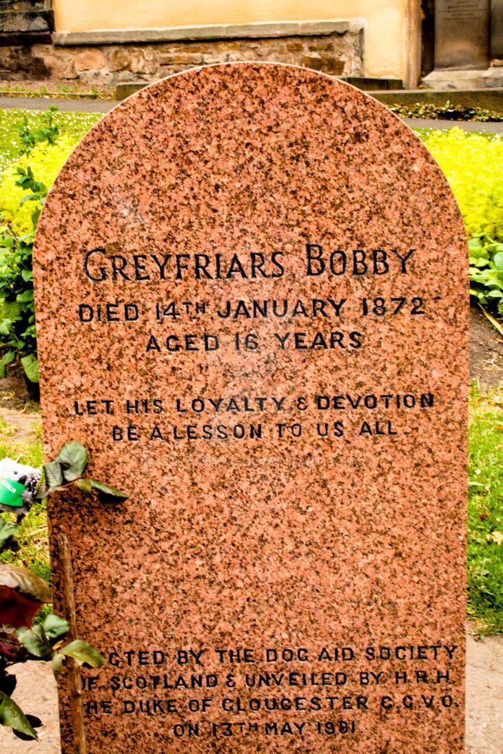 Edinburgh (Grey Friars Kirk Wee Bobbys Grave) by StuartMac