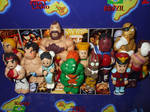 StreetFighter2 Chibi figures