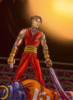 Guy Street Fighter Alpha by CptMunta