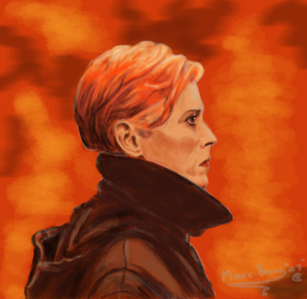 David Bowie Low by CptMunta on deviantART