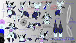 Mei reference sheet by Axial97
