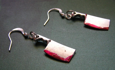 Blood earrings by kaitani81