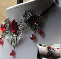 egyptian necklace or bracelet by kaitani81