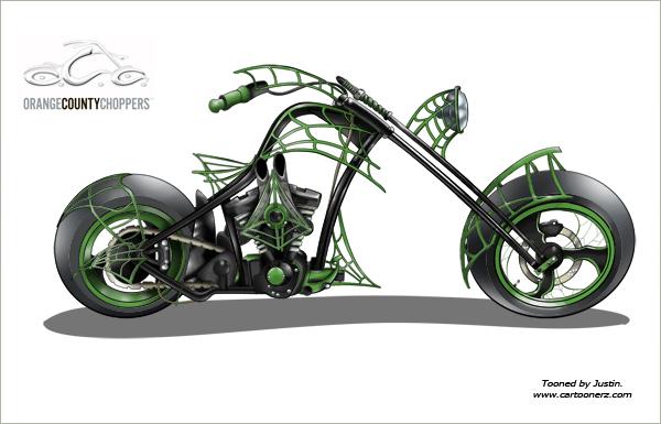 Occ Junior Dream Bike Tooned By Cartoonerz On Deviantart