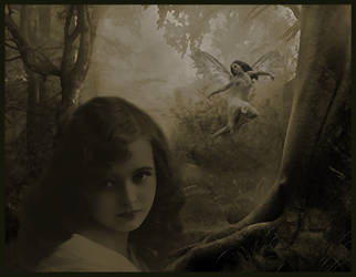 Cottingley Fairie by dark--shepherd