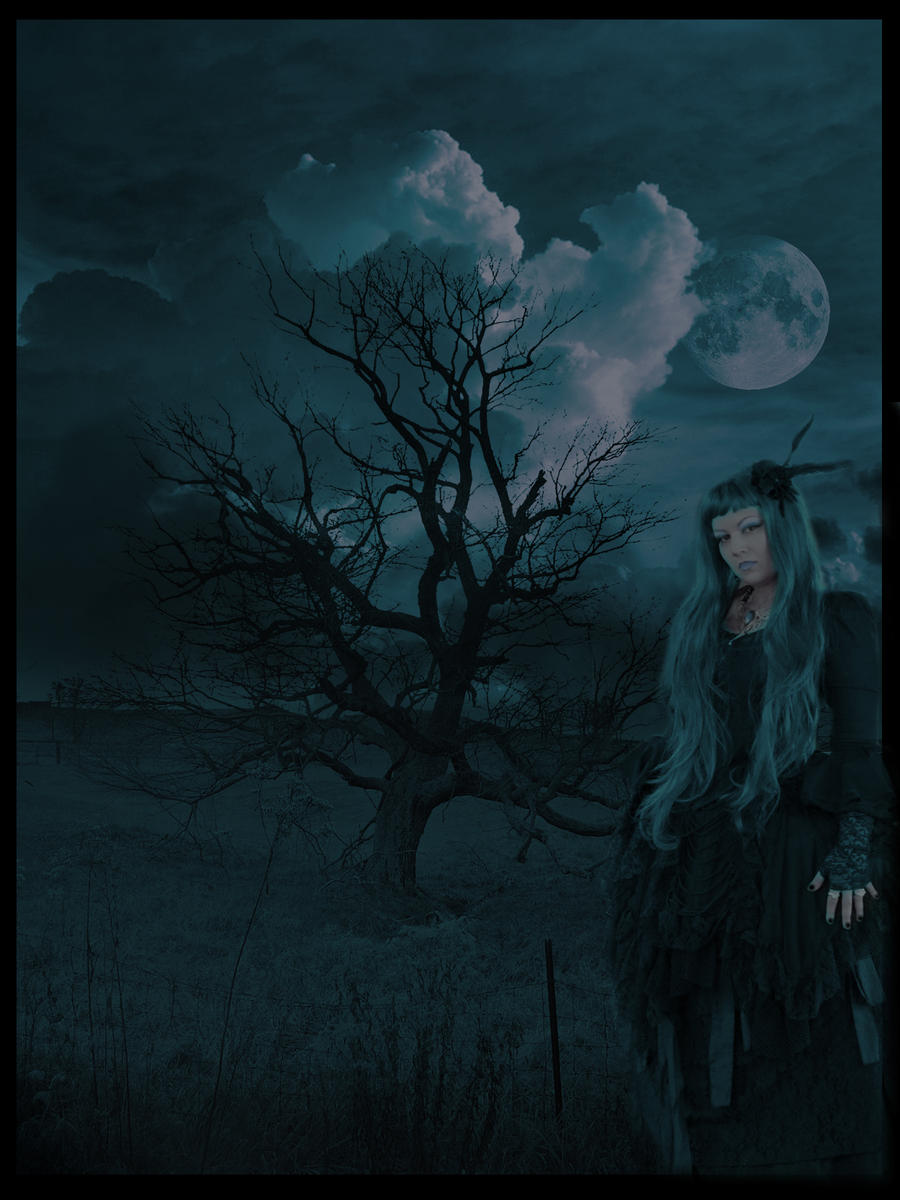 Blue witch by dark--shepherd