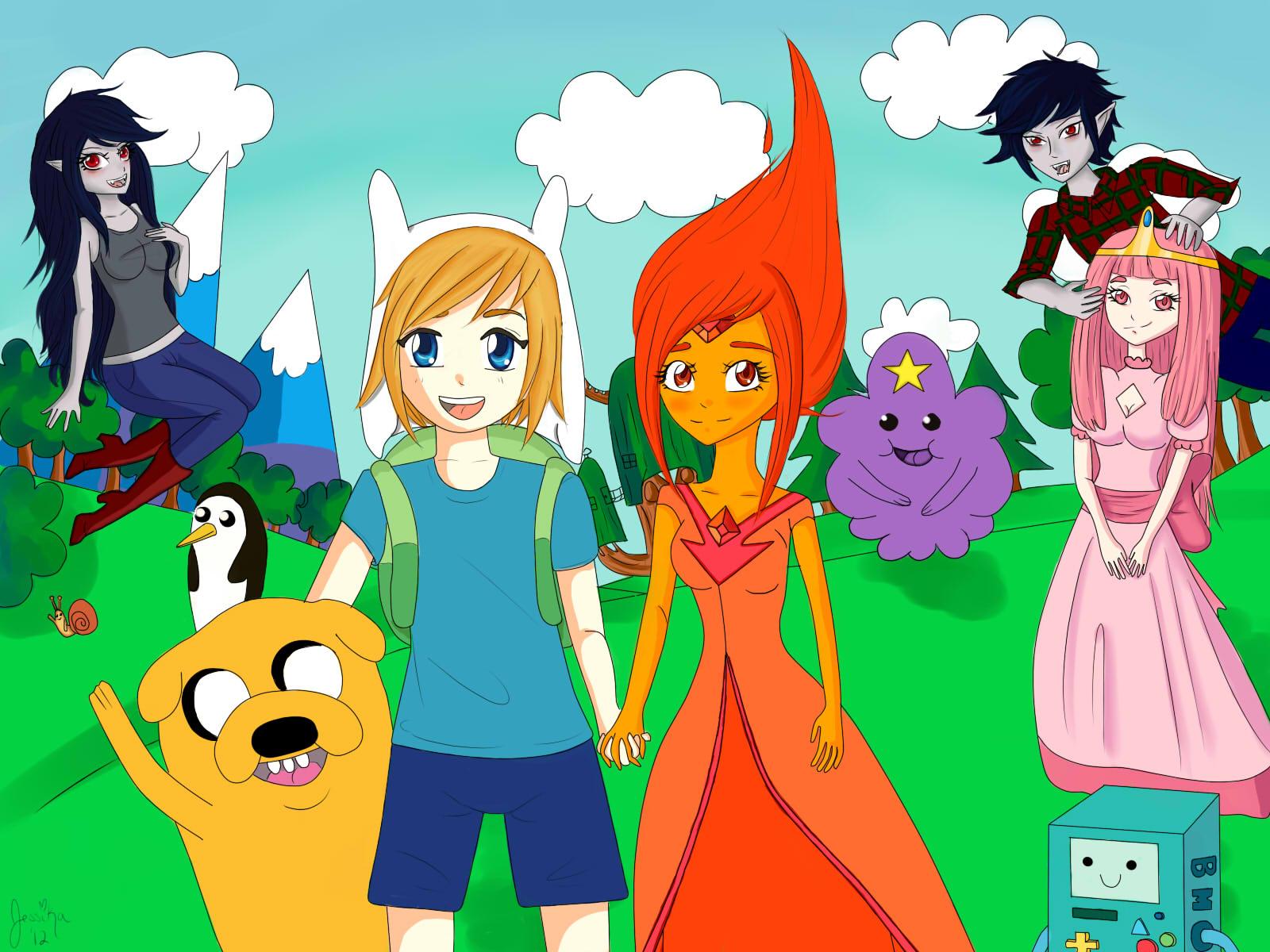 Adventure Time by Nekokissa