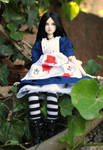 Obitsu doll repaint - Alice Liddell