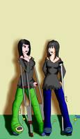 Eliza e Raven