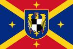 Hohenzollern Romanian Empire Flag