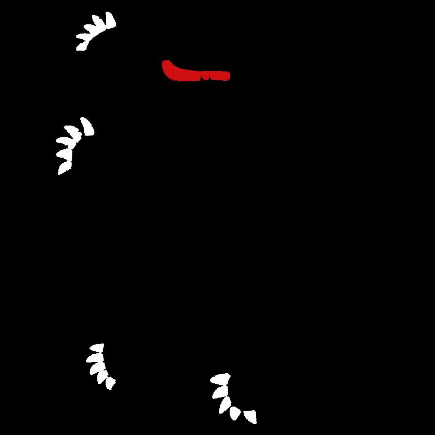 Silhouetted Heraldic Bear by Rarayn
