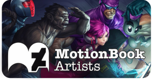 MotionBookArtists Icon Color