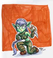 Stealth Elf 01142017 by blademanunitpi