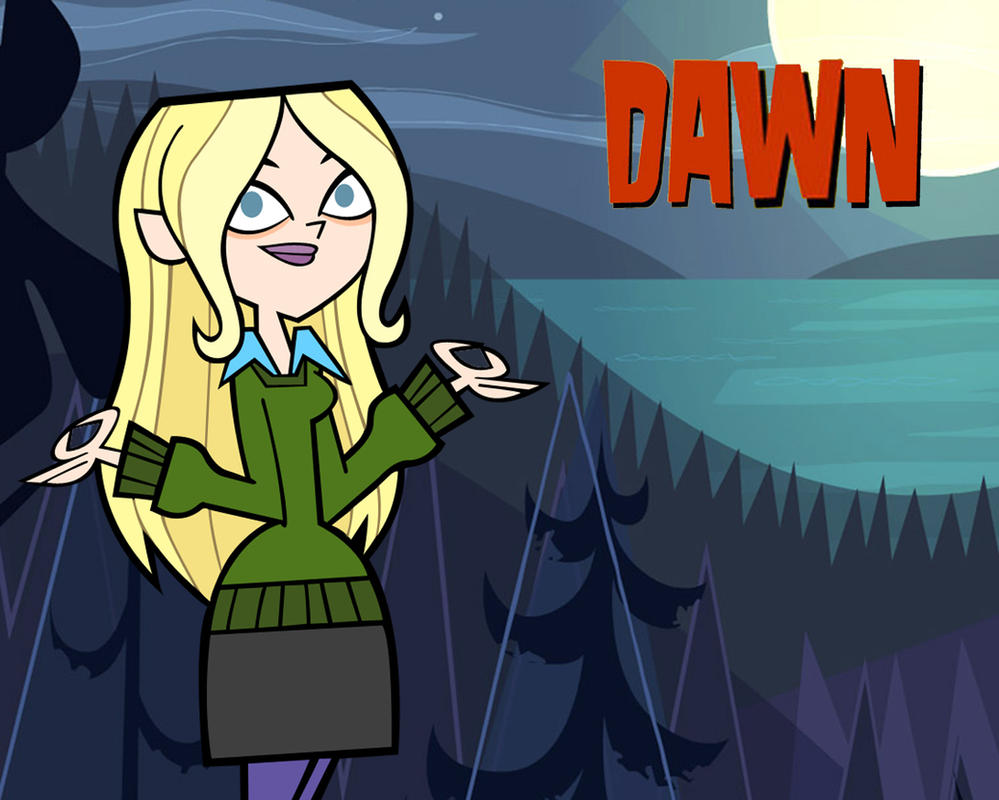 Total Drama Zoey And Dawn: Dawn By Corbinace On DeviantArt