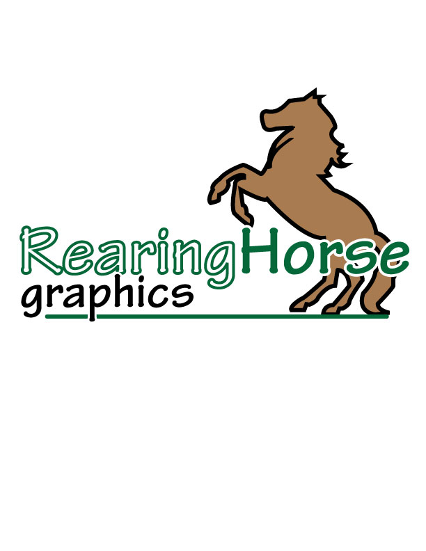 Rearing Horse Logo by ...