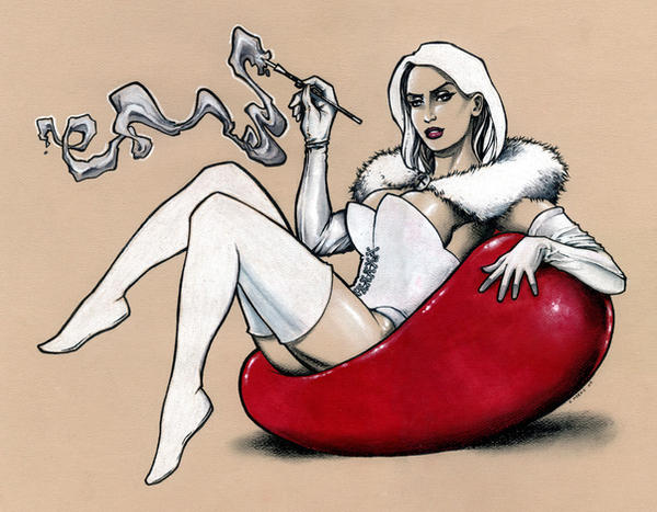 Emma Frost White Queen by Kapow2003