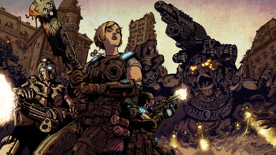 Gears of War 3 Contest by Kapow2003