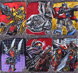 Transformer Sketch Cards by Kapow2003