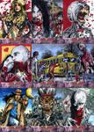 Deadworld zombie sketch cards