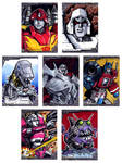 last batch of transformers sketch cards