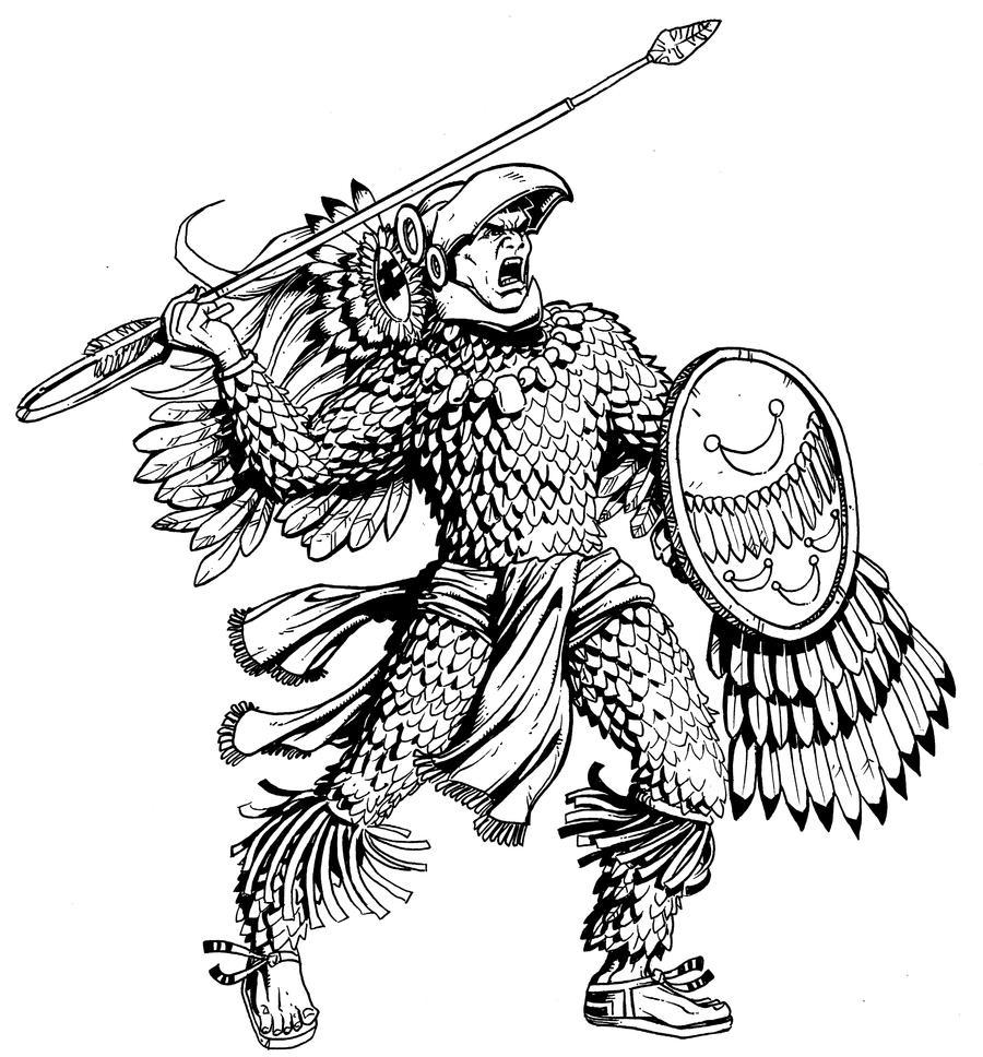 Eagle Warrior by Kapow2003 on DeviantArt