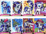 My Little Pony Rarity sketch cards