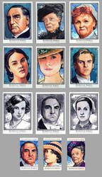 Official Downton Abbey sketch cards by Kapow2003