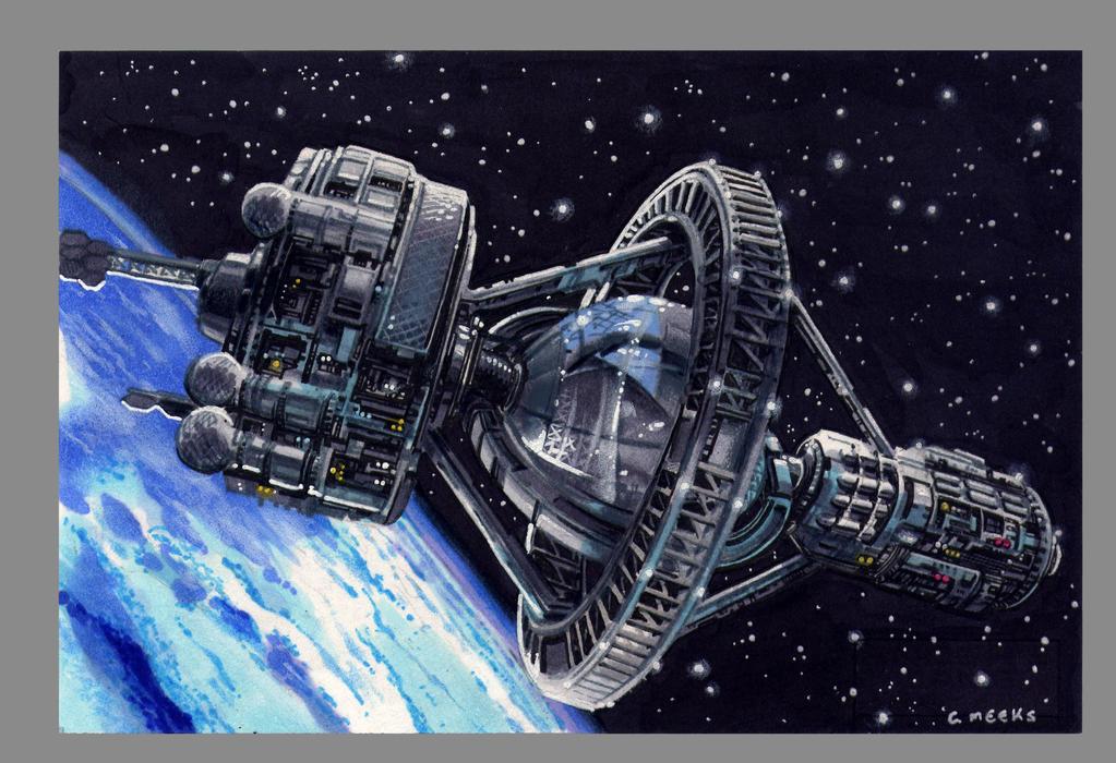 Battleschool  Ender's Game by Kapow2003