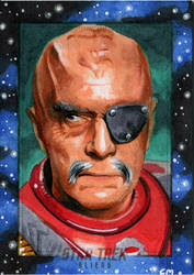 Chang sketch card for Rittenhouse Star Trek set by Kapow2003