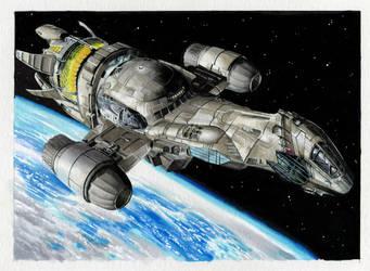 Serenity Base Card art for Upper deck card set