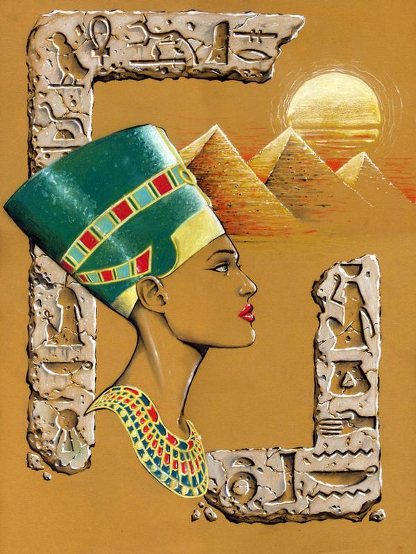 Egyptian Queen Nefertiti by Kapow2003