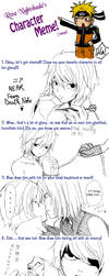 Near Character Meme by KurosakiAkane
