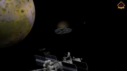 Space Scene-b by Allogagan