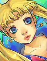 Sailor Moon by VanessaFardoe