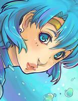 Sailor Mercury by VanessaFardoe