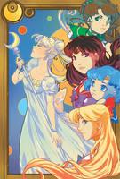 Sailor Moon : Inner Court by VanessaFardoe