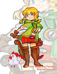 Fan Art: Hyrule Warriors - Linkle -