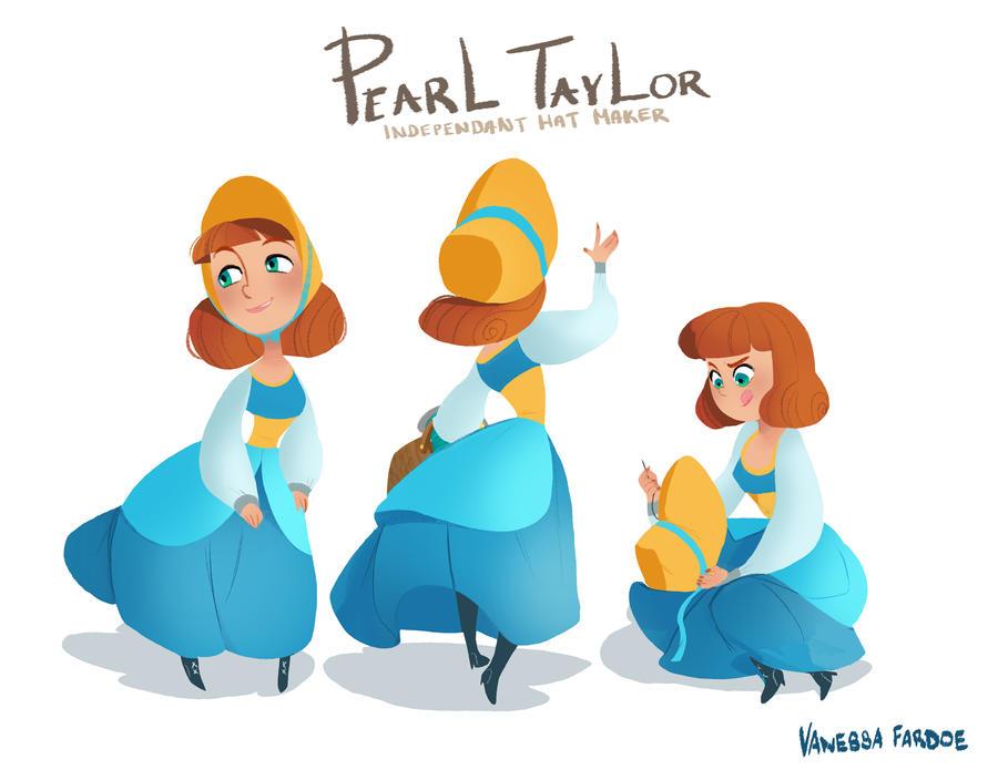 Original Art: Pearl Taylor by VanessaFardoe