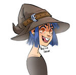 Original Art: Toothy Witch
