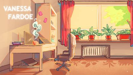 Original Art: My Workstation by VanessaFardoe