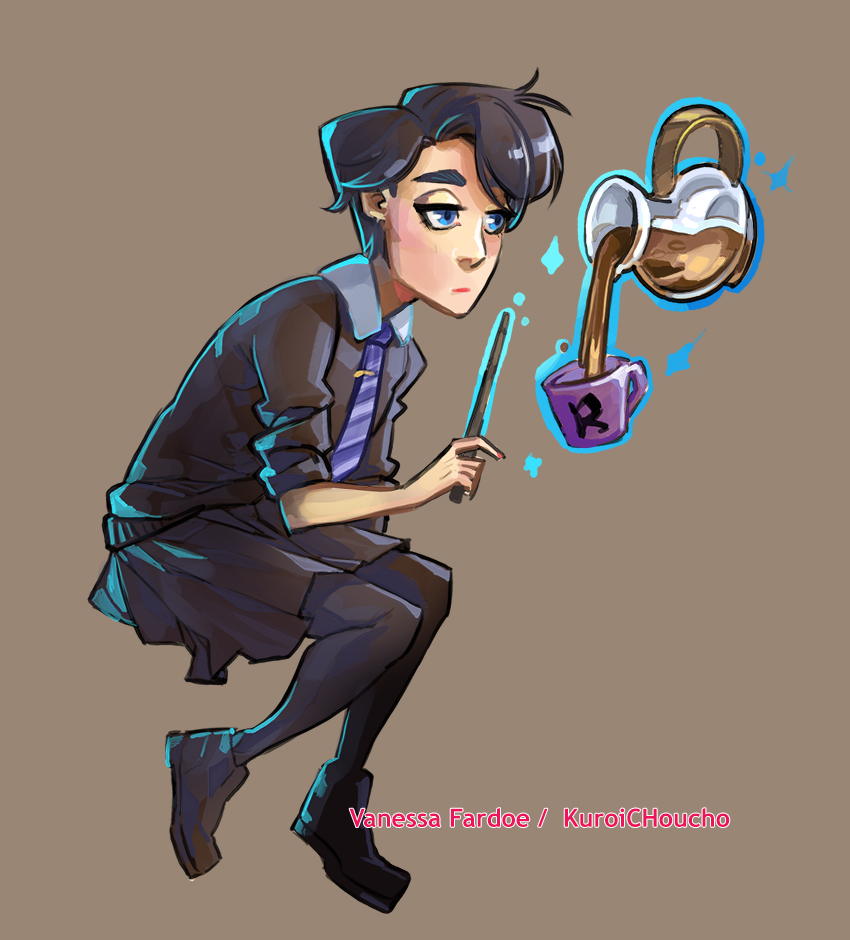 Original Art: Ravenclaw by VanessaFardoe