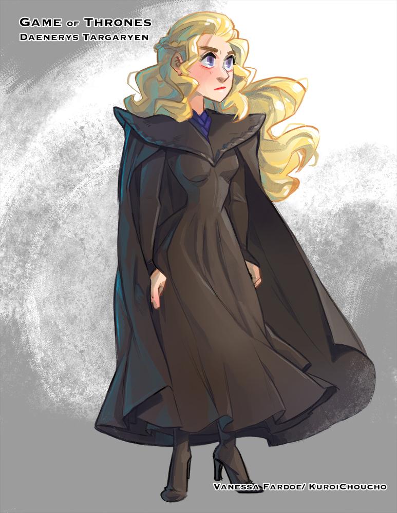 Fan Art: Daenerys Targaryen (S7) by VanessaFardoe