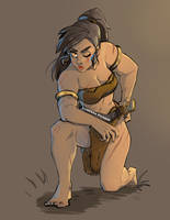 Original Art: Barbarian 02 by VanessaFardoe