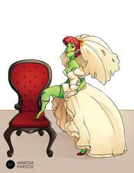 Original Art: Zombie Bride by VanessaFardoe