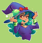 Original Art: Guu Witch by VanessaFardoe