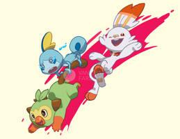 Fan Art: Pokemon Sword and Shield