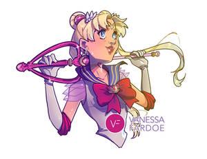 Fan Art: Sailor Moon Baseball