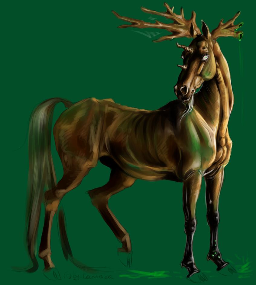 Spirit of DeathForest by Kantaka1