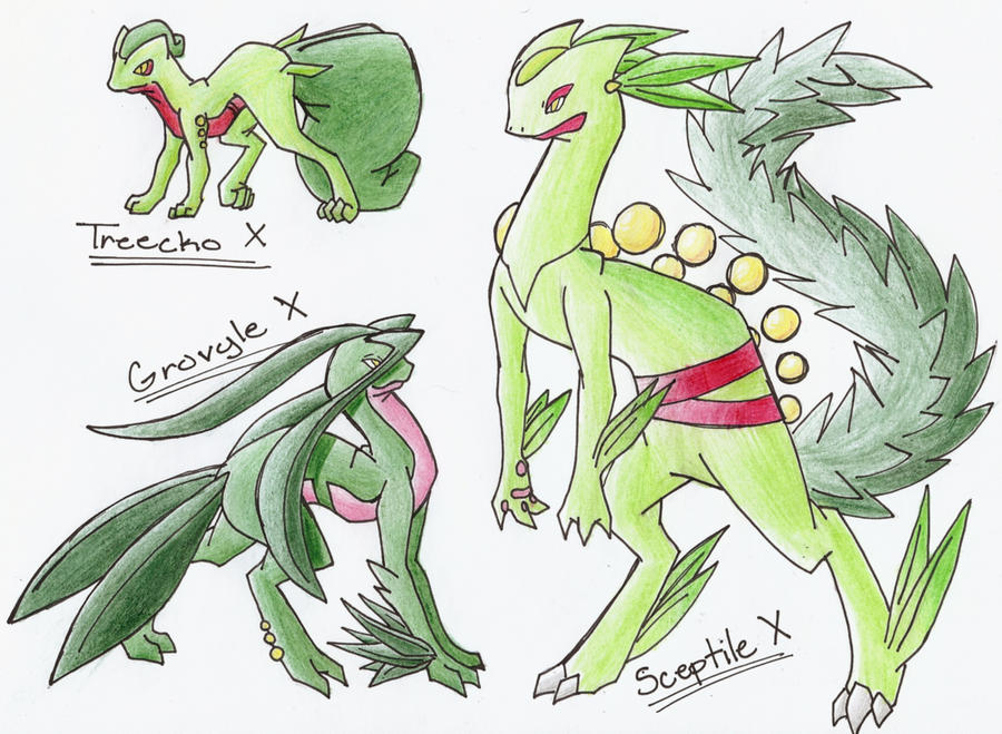 Pokemon Treecko Evolut...