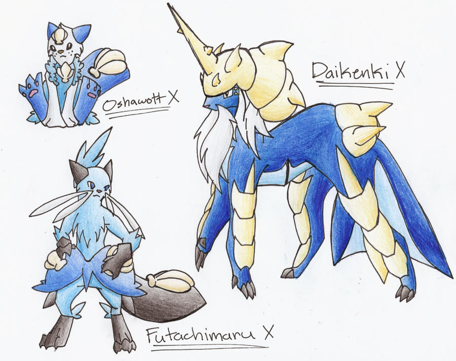 oshawott second evolution